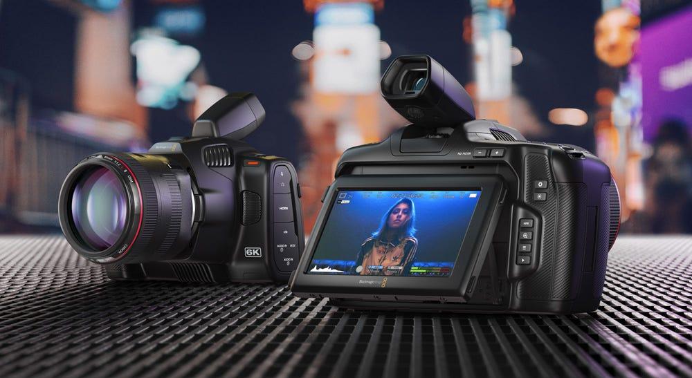 Blackmagic Pocket Cinema Camera 6K Pro.