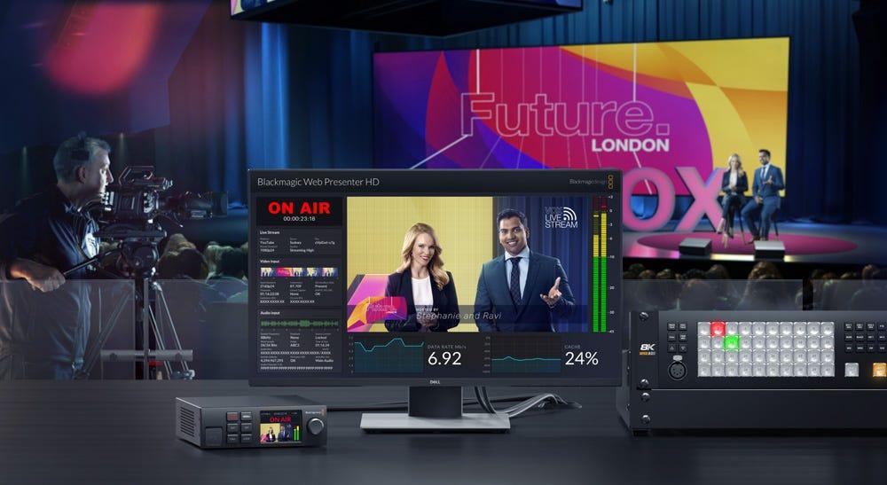 Blackmagic Web Presenter HD.