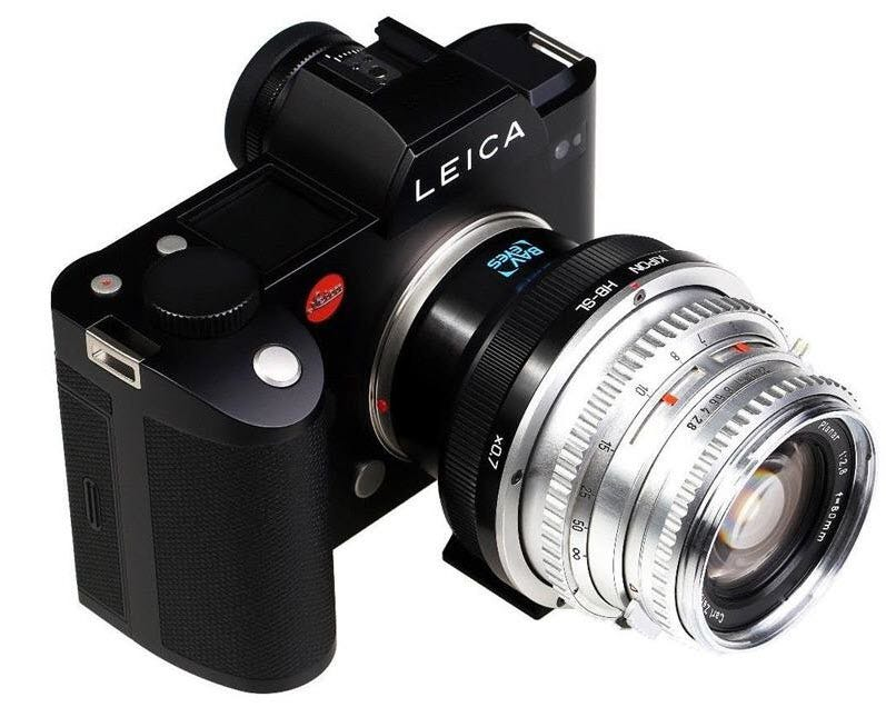 Kipon Baveyes Adapter For Hasselblad V Lens To Leica Sl