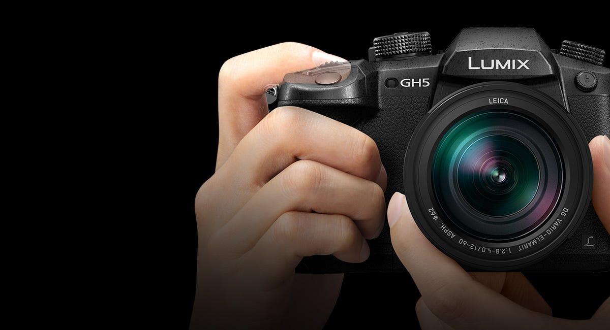 Panasonic Lumix DC-GH5 Mirrorless Camera Body, Black