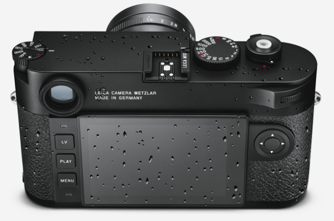 Leica M10 Mirrorless Digital Rangefinder Camera, Black