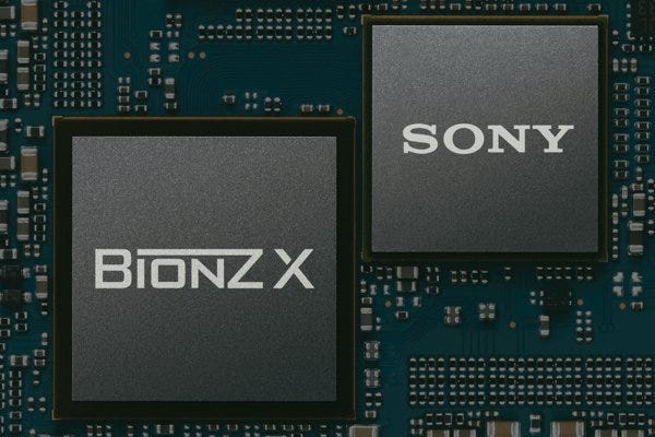 BIONZ X enhanced speed image processor