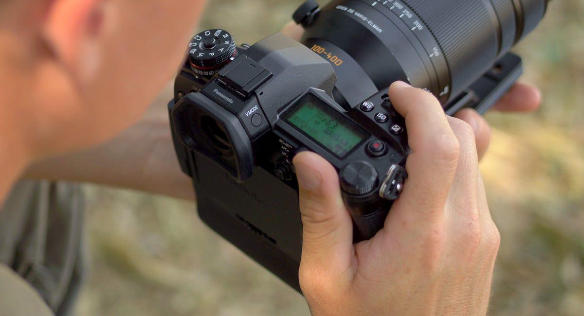 Panasonic Lumix G9 Mirrorless Camera Body, Black