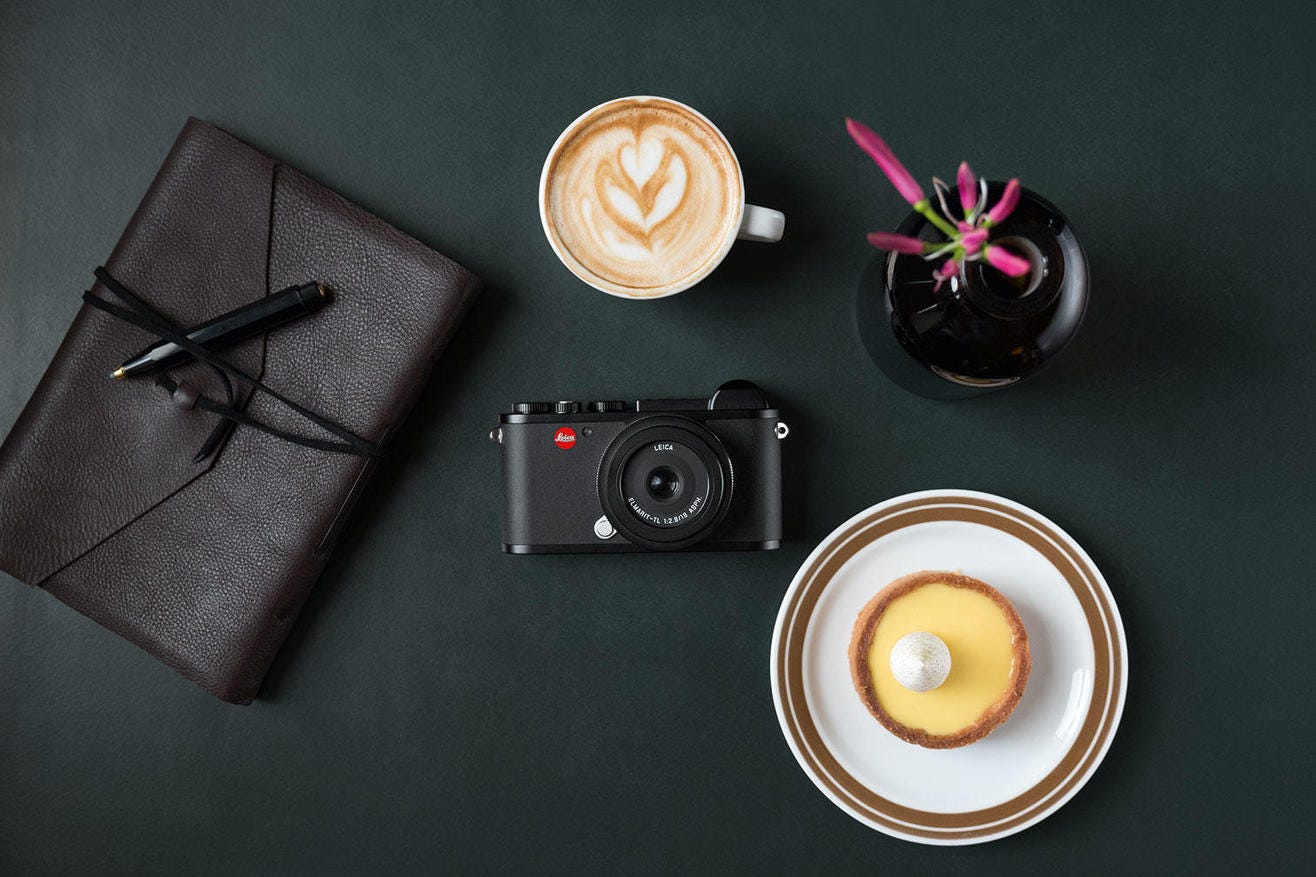 Leica CL Mirrorless Digital Camera, Black