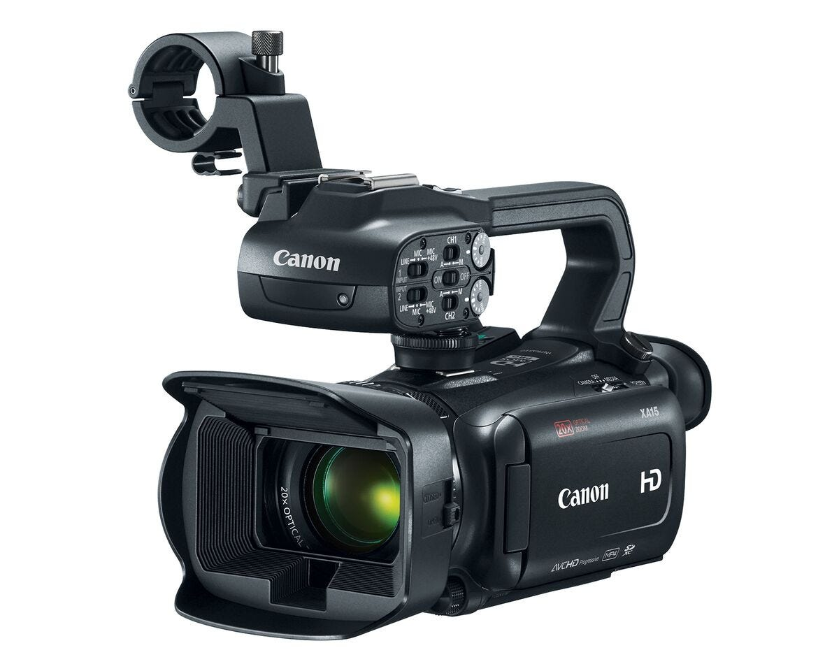 Canon XA11 Compact Professional Camcorder with HDMI and Composite Output,  20x HD Optical Zoom, Full HD Video
