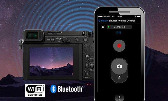 Panasonic Lumix Dc Gx9 20 3mp Mirrorless Digital Camera