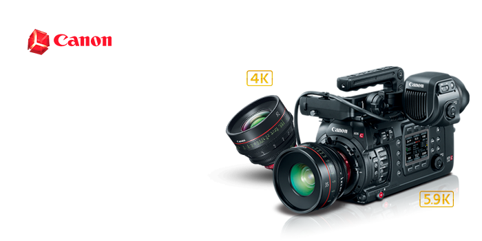 Canon EOS c700 Full Frame Digital Cinema Cameras & Lens