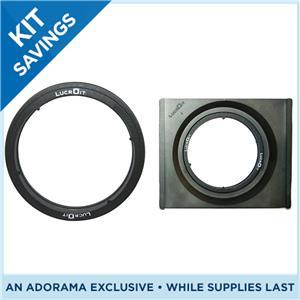 Hitech lucroit 165mm wide angle 2 slot filter holder for nikon 14 24mm