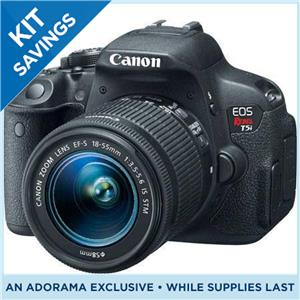 Lowest Price on Canon EOS Rebel T5i Bundle with 18-55mm Lens, 70-300mm Lens, and Pixma PRO-100 Photo Printer