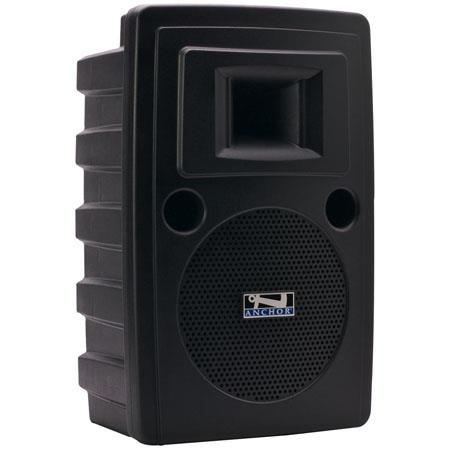 Anchor Audio Liberty LIB-7500MU1 AC/DC Powered Speaker with Built-in MP3 Player and One Wireless Receiver