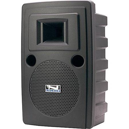 Anchor Audio LIB-7500MU1/AC Liberty Platinum AC Powered Portable Sound System with Built-In MP3 Player and Wireless Receiver