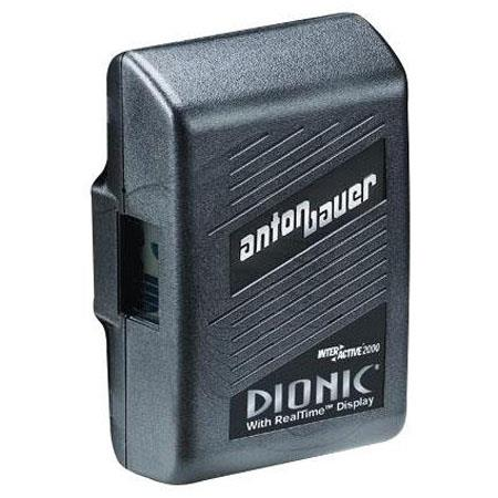 Anton Bauer Logic Series Dionic 90 Digital Interactive Lithium-Ion Battery, 14.4 volts, 90 watt hours, Anton Bauer 3-Stud Gold Mount