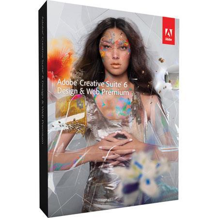 Adobe Design and Web Premium CS6 Software Suite for Mac