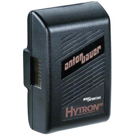 Anton Bauer Logic Series Hytron 50 Digital Nickel Metal Hydride Battery 14.4 volts, 50 watt hours, Anton Bauer 3-Stud Gold Mount