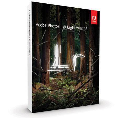 Adobe Photoshop Lightroom V5 Software, Windows and Mac OS