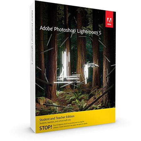 Adobe Photoshop Lightroom V5 Software, Windows and Mac OS, STUDENT EDITION --- IMPORTANT NOTICE: This Student Edition is Absolutely Not Refundable, Verify your Eligibility with Adobe, Before you make your Purchase
