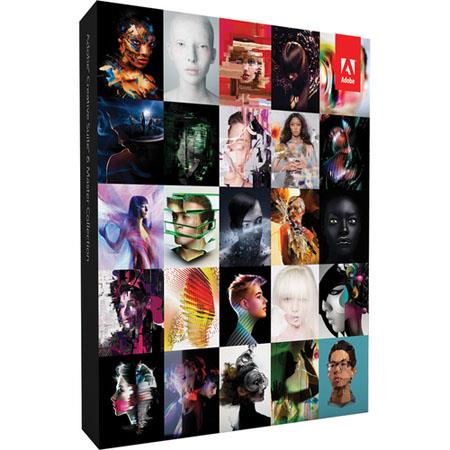 Adobe Master Collection CS6 Software for Mac