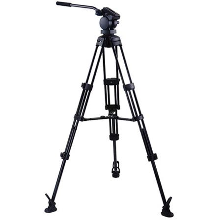 Acebil MP-50V N 6.5 lbs Load Capacity 67 Max Height 4-Section Aluminum Video Monopod with Quick Release Plate
