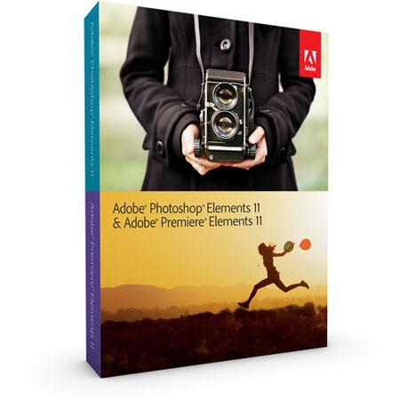 Adobe Photoshop Elements 11 & Premiere Elements 11 Bundle for Mac and Windows