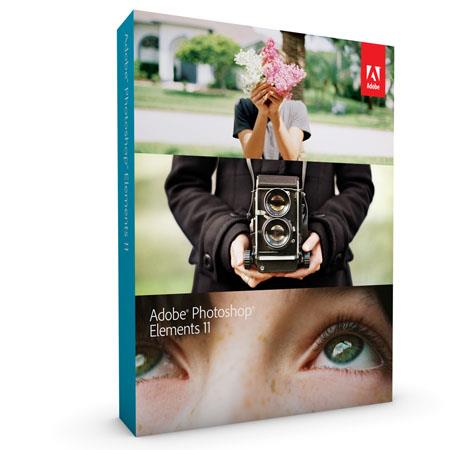 Adobe Photoshop Elements 11 for Mac and Windows, Full Version