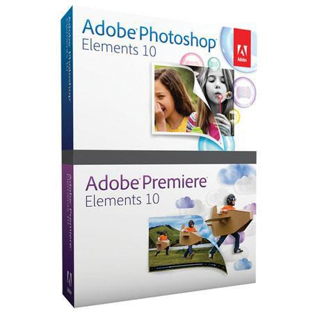 Adobe Photoshop Elements 10 and Premiere Elements 10 Student and Teacher Edition for Windows and Mac