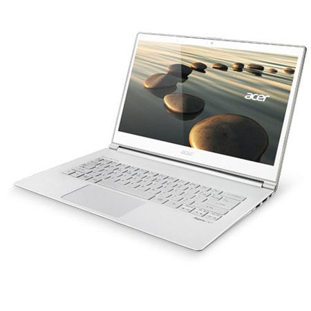 "Acer Aspire S7-392-9890 13.3"" Full HD Touchscreen Ultrabook Computer, Intel Core i7-4500U 1.80GHz, 8GB RAM, 256GB SSD, Windows 8 Home, White"