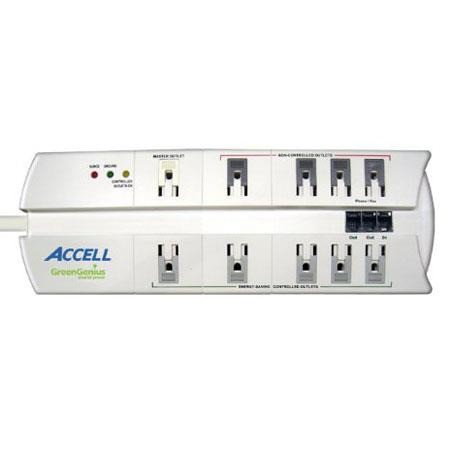 Accell GreenGenius Smart Surge Protector and Power Conditioner for Home or Office, 10 Outlets