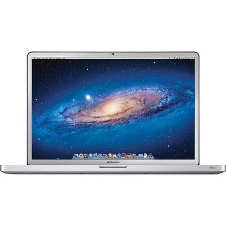"Apple MD311LL/A 17"" MacBook Pro Notebook, Intel Core i7 Quad-Core 2.4GHz Processor, 4GB DDR3 RAM, 750GB 5400 RPM HDD, Mac OS X 10.8 Mountain Lion"