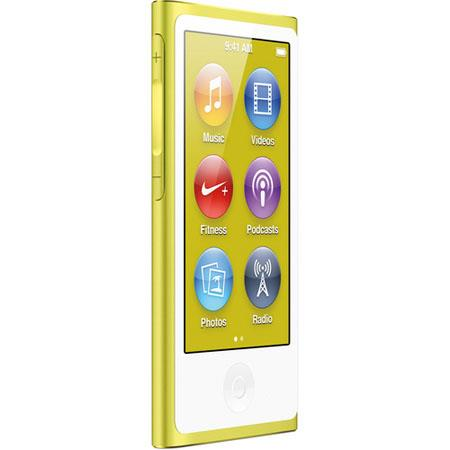 Apple MD476LL/A 16GB iPod Nano 7th Generation, Yellow, USA Warranty