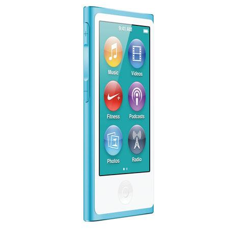 Apple MD477LL/A 16GB iPod Nano 7th Generation, Blue, USA Warranty