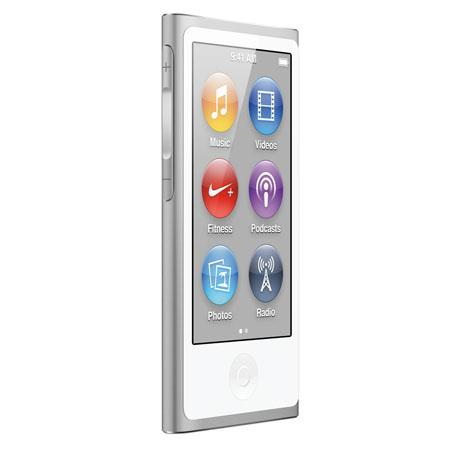 Apple MD480LL/A 16GB iPod Nano 7th Generation, Silver, USA Warranty