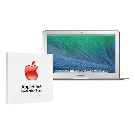 "Apple 11.6"" MacBook Air Notebook Computer, 1.7GHz Dual-Core Intel Core i7, 8GB RAM, 128GB Flash Storage, Mac OS X Mavericks - BUNDLE - with 3 Year Care Extended Protection Plan"