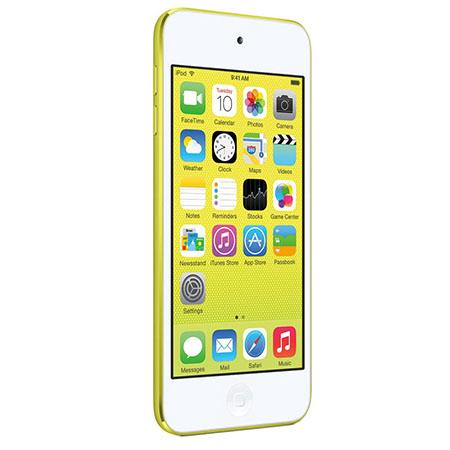 Apple iPod Touch 5th Generation, 64GB, Yellow, USA Warranty