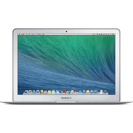 "Apple 13.3"" MacBook Air Notebook Computer, 1.4GHz Dual-Core Intel Core i5, 4GB RAM, 128GB Flash Storage, Mac OS X Mavericks (2014 Model)"
