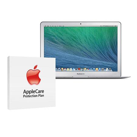 "Apple 13.3"" MacBook Air Notebook Computer, 1.4GHz Dual-Core Intel Core i5, 4GB RAM, 128GB Flash Storage, Mac OS X Mavericks - BUNDLE - with 3 Year Care Extended Protection Plan"