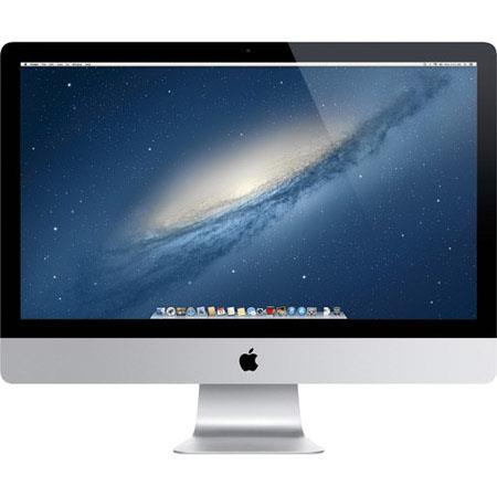 "Discount Electronics On Sale Apple iMac 27"" LED All-in-One Desktop Computer, Intel Core i5 Quad-Core 3.2GHz, 8GB RAM, 1TB Fusion Drive, Mac OS X Mavericks 64-bit"