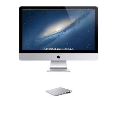 "Discount Electronics On Sale Apple iMac 27"" LED All-in-One Desktop Computer, Intel Core i7 Quad-Core 3.5GHz, 8GB RAM, 1TB Fusion Drive, NVIDIA GeForce GTX 780M 4GB GDDR5, Magic Trackpad"
