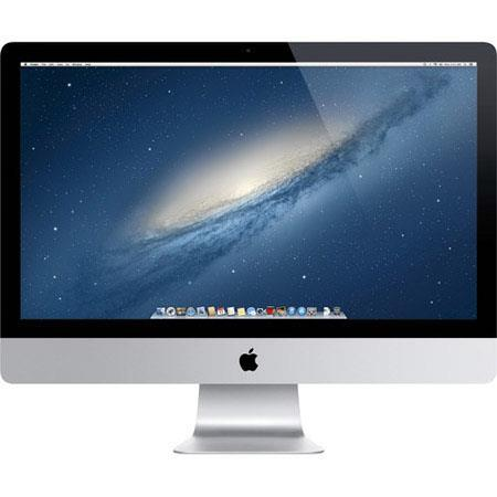 "Discount Electronics On Sale Apple iMac 27"" LED All-in-One Desktop Computer, Intel Core i7 Quad-Core 3.5GHz, 8GB RAM, 3TB Fusion Drive, NVIDIA GeForce GTX 775M, Mac OS X Mavericks 64-bit"