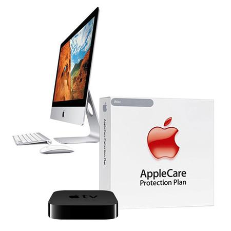 "Discount Electronics On Sale Apple iMac 21.5"" 1080p LED All-in-One Desktop Computer, Intel Core i5 Dual-Core 1.4GHz, 8GB RAM, 500GB 5400rpm HDD, Mac OS X Mavericks - BUNDLE - with 3 Year Care Extended Protection Plan"