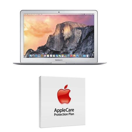 "Apple MacBook Air 13.3"" Notebook Computer, 2.2GHz Dual-core Intel Core i7 (Broadwell), 4GB DDR3 RAM, 128GB PCIe Flash Storage (2015) - Bundle With AppleCare 3 Year, Extended Protection Plan"