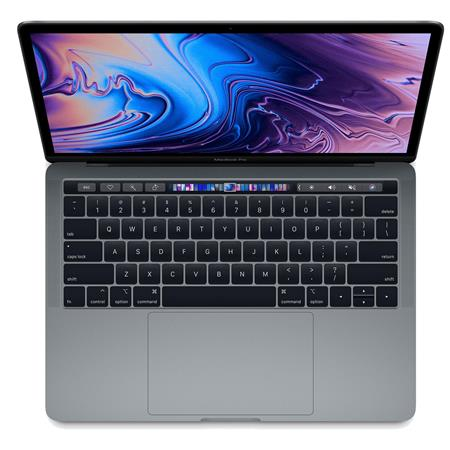 """Apple Apple 13"""" MacBook Pro with Touch Bar, Intel Core i5 2.4GHz, Plus 655, 16GB RAM, 512GB SSD, Space Gray (Mid 2019)"""