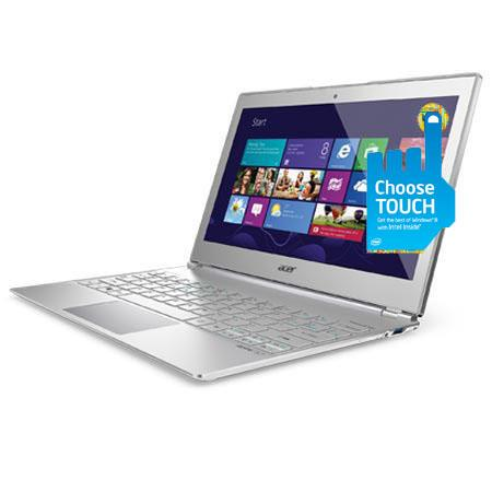 "Acer S7-191-6447 11.6"" Touch Screen Ultrabook Notebook Computer, Intel Core i5-3337U 1.80GHz, 4GB DDR3 SDRAM, 128GB SSD, Windows 8 Home Premium 64-bit"