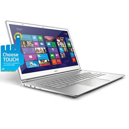 "Acer S7-191-6468 13.3"" Touch Screen Ultrabook Computer, Intel Core i5-3337U 1.80GHz, 4GB DDR3 SDRAM, 128GB SSD, Windows 8 Home Premium 64-bit"