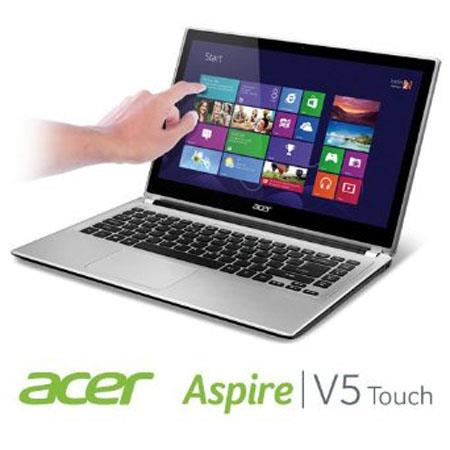 "Acer Aspire V5-471P-6498 14"" HD Multi-Touch Notebook Computer, Intel Core i5-3337U 1.80GHz, 4GB RAM, 500GB HDD, Windows 8 Home Premium 64-bit"