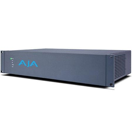 AJA External 2RU I/O Chassis with PCIe Card and Connecting Cable, 4K HDMI Output, 3G/HD/SD-SDI Inputs and Outputs