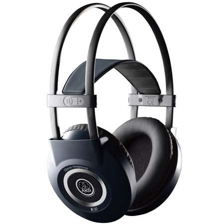 AKG Acoustics K 99 Semi Open Circumaural Stereo Headphones with Skin Compatible Leatherette Ear Pads image