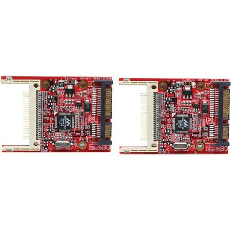 Aleratec Compact Flash (CF) to SATA Adapter, 2 Pack