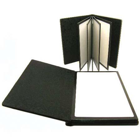 "Adorama Professional Peel and Stick Bound Album with Black Leatherette Cover, Holds 10 5"" x 7"" Prints image"