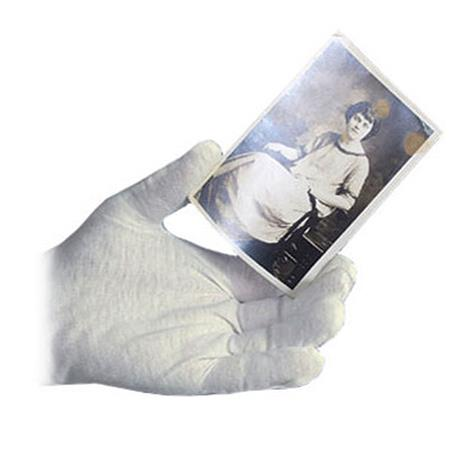 Archival Methods White Nylon Gloves Small, Package of 12 image