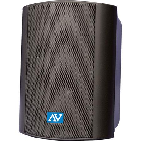 AmpliVox S1232 Powered Wall-Mount Stereo Speakers